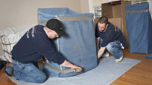 Déménageurs résidentiel – emballage des biens
